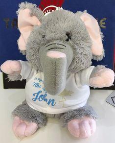 PERSONALISED PHOTO PLUSH TOY ELEPHANT WITH CUSTOM PRINTED PHOTO OR IMAGE #Unbranded Elephant, Plush, Teddy Bear, Printed, Toys, Animals, Ebay, Image, Activity Toys