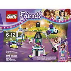 LEGO Friends Amusement Park Space Ride 195-Pc. Building Set - 41128