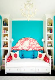 This is what I wanted to do in my guest room until I added a king bed. Now it is going to be a similar version....