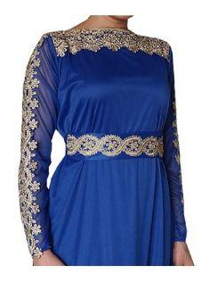 Robe Yasmine bleue