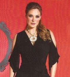 Galilea Montijo luce hermosa con collar Jenny Rabell. Compra accesorios Jenny  Rabell en http