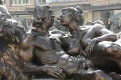 Nürnberg - 1977–1981 Hans-Sachs-Brunnen, genannt das Ehekarussell