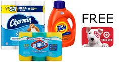 ★★★ 🅽🅴🆆 ★★★ FREE $10 Target Gift Card with 3 Household Product Purchases:  Target.com has an AWESOME Promotion going on! Buy 3 Cleaning or…