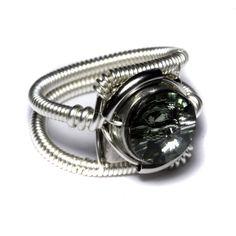 Cyberpunk Black diamond Ring by CatherinetteRings on DeviantArt I Love Jewelry, Jewelry Rings, Unique Jewelry, Jewellery, Diamond Rings, Diamond Engagement Rings, 1 Carat, Black Rings, Cyberpunk