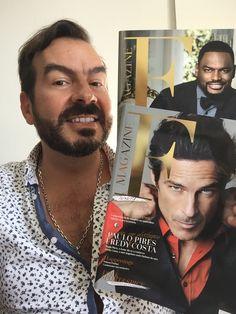 A adorar a segunda edição da F Magazine, com duas capas mas o mesmo conteúdo. Já nas bancas! #ilovefmagazine