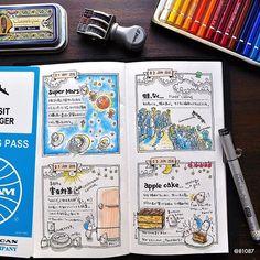 Diy Journal Books, Art Journal Pages, Filofax, Drawing Journal, Art Sketchbook, Bullet Journal And Diary, Notebook Doodles, Journal Organization, Sketch Notes