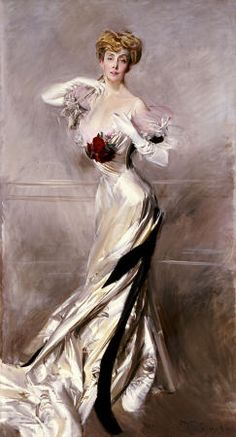 Giovanni Boldini - Portrait Of The Countess Zichy