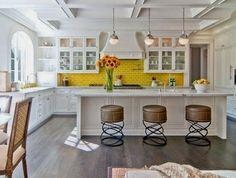 15 فكرة لديكور حوائط المطبخ بالحجر والطوب