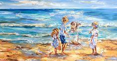 ". . ""En vacances"" by Artist Diana Malivani - Oil on canvas painting, 50 by 100 cm, 2020 - Collection ""Selected Seascape Art"" . #artistdianamalivani #artist_diana_malivani #gwrartgallery #gwr_art_gallery #художник_диана_маливани . #oilpaint #oilpaints #oilpainting #oilpaintings #colourfulpainting #colorfulartwork #colourfulart #colorfulart #peinture #peintures #huilesurtoile #картинамастихином #картинамасломнахолсте #картинамаслом #холстмасло #мастихин #мастихиноваяживопись #seaart… Seascape Paintings, Animal Paintings, Bird Artists, Seaside Art, Bird Artwork, Sea Art, Figurative Art, Impressionist, Oil On Canvas"