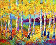 Autumn Jewels Painting by Marion Rose - Autumn Jewels Fine Art Prints and Posters for Sale