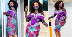 #STYLEGIRL: Ghana's Serwah Amihere Just Served Astonishing African Print Office Wear With Haute Mask Goals Red Fashion, Fashion Shoot, African Fashion, Fashion News, Fashion Models, African Dresses Men, Bodycon Outfits, African Models, Brunch Outfit