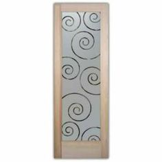 Interior Doors Glass French Frosted Glass Door 2/0 x 6/8 1