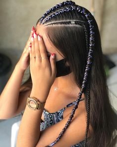 Hair Colour Design, Hair Color, Afro Girl, Festival Hair, Long Bob, Box Braids, My Hair, Cool Hairstyles, Beauty Hacks