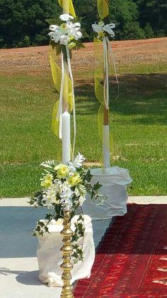 Sketo wedding hoopa candle deco