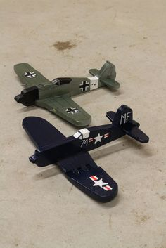 F4U Corsair and FW190 wood toys for 3 yr olds - The Garage Journal Board
