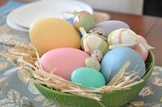 Easter Table // Honey We're Home