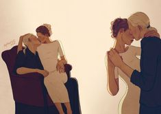 Draco and Astoria by upthehillart Nope. Pretending it's Dramione. Harry Potter Ships, Harry Potter Fan Art, Harry Potter Universal, Harry Potter Fandom, Harry Potter World, Draco Malfoy, Draco And Hermione, Drarry, Astoria Malfoy