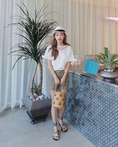 #Dahong style2017 #summerlook #Jinhee