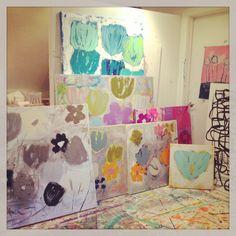 Flower Bomb series  Kerri Rosenthal