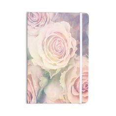 """Suzanne Carter """"Faded Beauty"""" Blush Floral Everything Notebook"""