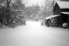 times stands still for a snow or ice storm,  love the WARM memories this brings back