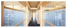 STRABAG Building Hausleiten (Lower Austria), Interior Office Buildings, Austria, Interior, Furniture, Home Decor, Building Ideas, Detached House, Homes, Homemade Home Decor