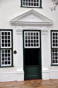 Cape Dutch Doorway