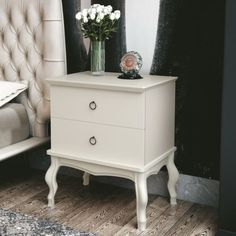 Nightstand, Loft, Room Decor, Table, Off White, Furniture, Bedroom Ideas, 1, Glitter