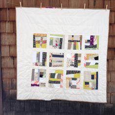 Improvisational Quilt by Katherine Ferrier