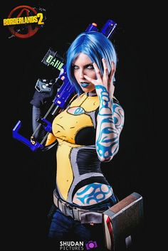 Character: Maya the Siren / From: 2K Games & Gearbox Software's 'Borderlands 2' / Cosplayer: Zaelya Cosplay / Photo: Shashin kaihi Photography