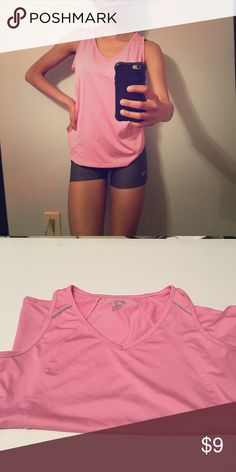 Bubblegum pink workout tank Bubble gum pink workout tank💖 BCG. No built in bra shelf, just tank.  Worn once? Maybe? 🎉(I own way too much work out clothes)💖 CAN BUNDLEEEEEE. This is a medium, it fits me loose and I'm typically a size small Tops Tank Tops