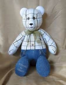 Bear patterns craft ideas memory bear pattern baby sleeper bear