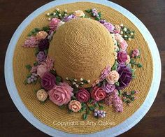 OMG...love this cake. What a great Mother's Day cake this would be!