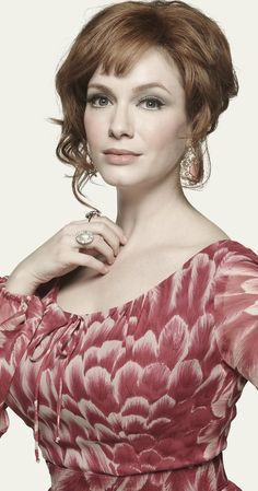 Christina Hendricks from Mad Men is the Lovely, Luscious Lillias Lamont
