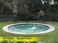 HIDDEN WATER POOLS  Original Promo Video Footage