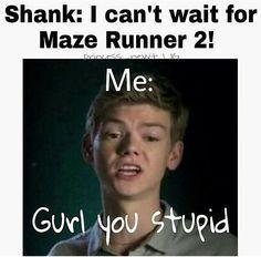 Some random Maze Runner Jokes. [Spoilers] [All requests are open] All… #random…