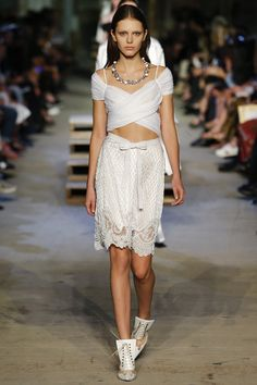 NYFW September 2015: Givenchy Spring 2016 Ready-to-Wear Fashion Show - Raquel Zimmermann