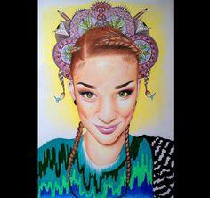 """""""autoportrait """"prisma color"""