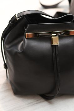 #therow leather #backpack