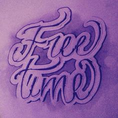 Free time! Lettering Brain Tattoo, Free Time, Calligraphy, Lettering, Tattoos, Tatuajes, Time Out, Tattoo, Drawing Letters