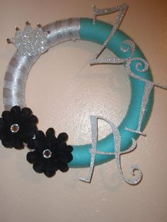 Sorority Wreath but make DPhiE
