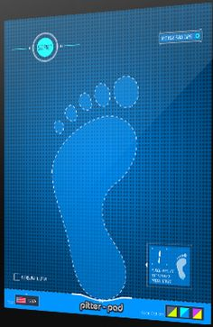 Pitter-Pad is a free iPad App that measures infant and toddler shoe sizes easily. Accurately measures height & width on screen.