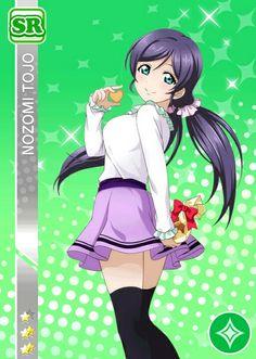Nozomi SR Score Match 32 Childhood Friends, Anime Outfits, Manga Anime, Manga Girl, Anime Girls, Love Live Nozomi, Nisekoi, Muse Art, Anime Art Fantasy