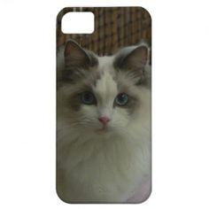Ragdoll Cat Blue Bicolor iPhone 5 Cases  $39.95