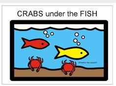 Chapel Hill Snippets: Crabs Everywhere! An 'on' and 'under' printable book