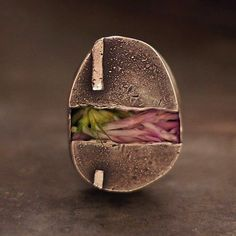 the ring of the 'soul'   sterling silver  linen  by ewalompe, $140.00