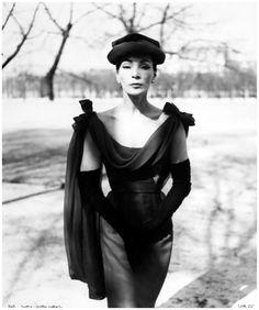 Dress by Dior 1955 Photo Walde Hut