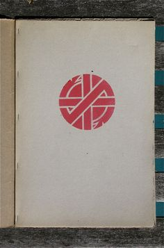 The short history of Dave King's Crass logo and the current show at Goteblud. (GO TO THIS.)