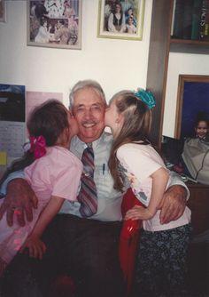 Girls and Grandpa Eddie
