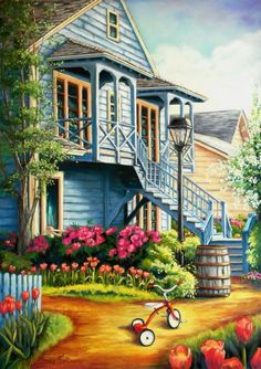 Peinture Pastel sec - Josée Tellier